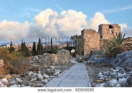 Byblos Crusader Fort