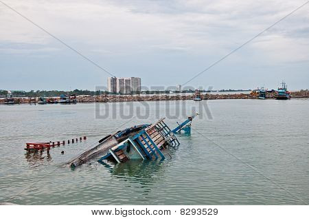 The Fishing Boat Capsize