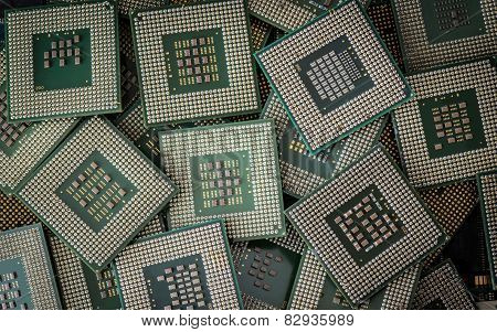 Electronic Waste Cpus
