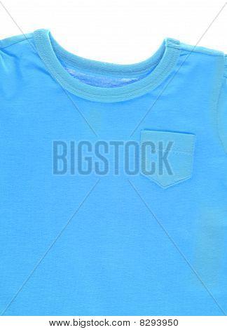 Blue Tee Shirt Background