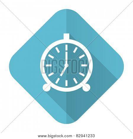 alarm flat icon alarm clock sign