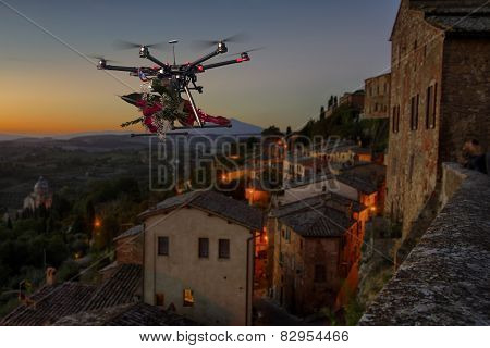 Flowers Delivery Drone 2
