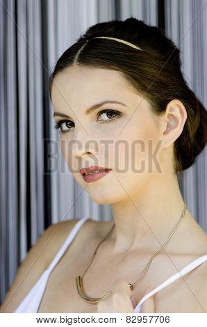 Beautiful antic girl
