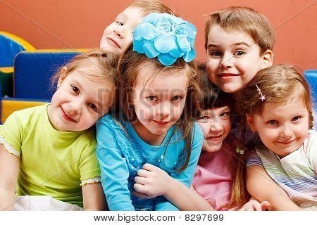Laughing Preschoolers