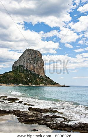 Rock of Ifach in Calpe Spain