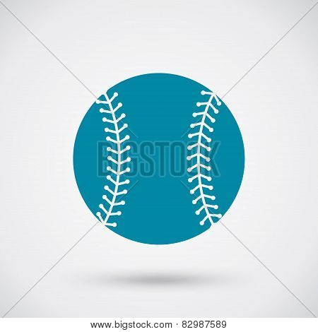 Baseball Ball Sign Icon
