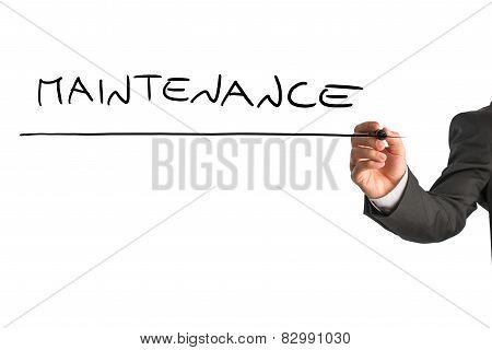 Writing Word Maintenance On Virtual Screen
