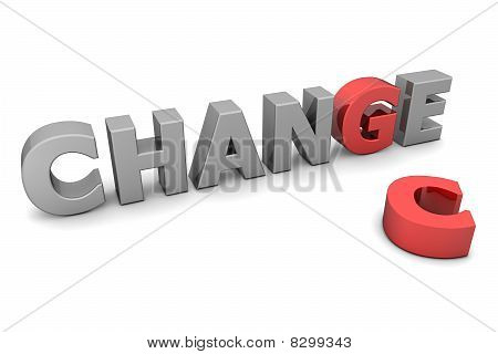 Chance To Change - Red And Grey