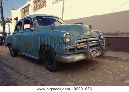 1949 Chevy in the streets of Trinidad, Cuba