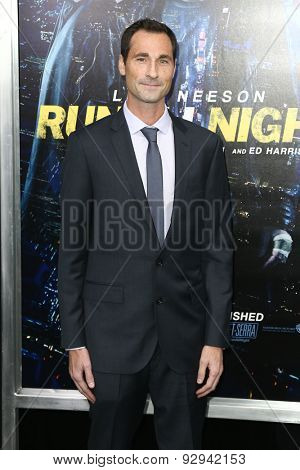 NEW YORK-MAR 9: Screenwriter Brad Ingelsby attends the premiere of