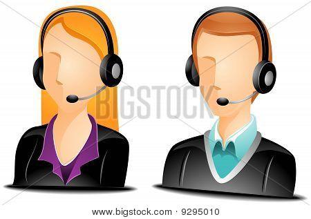 Call Center Agent Avatars