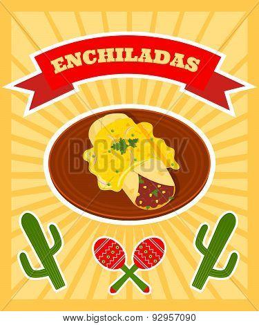 Enchiladas Poster