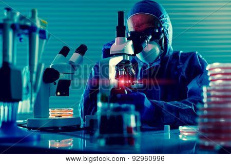 Detection of the pathogen coronavirus (Coronaviridae, Middle East Respiratory Syndrome) infection in the microbiology laboratory. Testing Nasopharyngeal aspirate poster