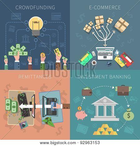 Bank Design Concept Set