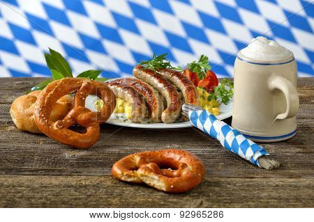 Bavarian lunch