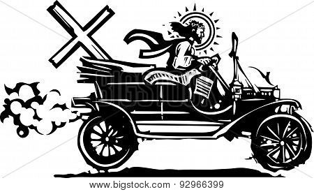 Automobile Easter Christ