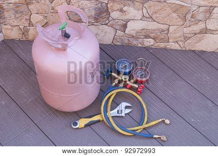 Bottle With Freon