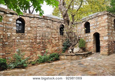 A view of Virgin Mary's House at Ephesus