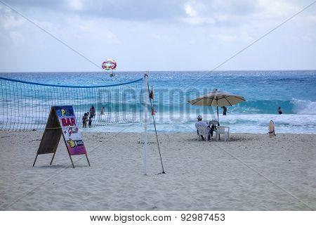 Beach Fun, Cancun, Mexico