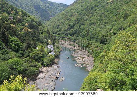 Nature mountain Kyoto Japan