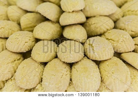 Cookies with tahini on sale in the market