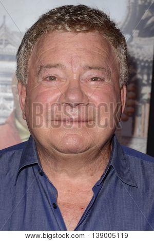 LOS ANGELES - JUL 18:  William Shatner at the