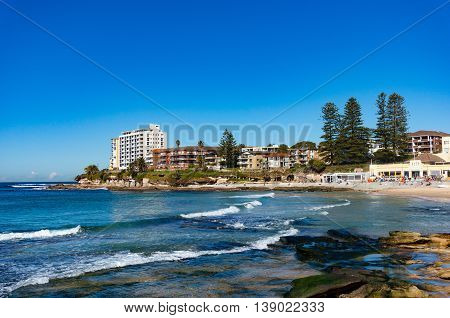 Picturesque Australian Beach, Cronulla