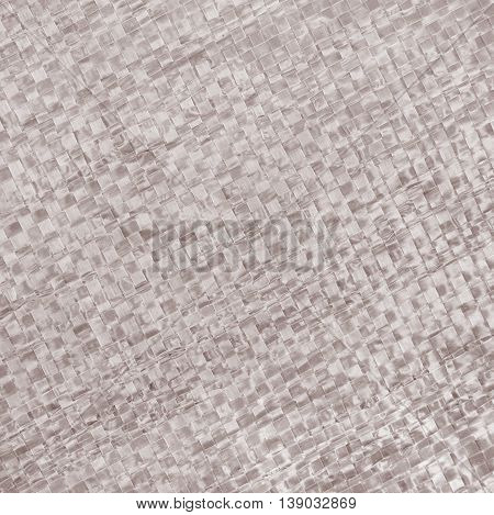 Beige Woven Texture As Background. In Sepia Toned. Retro Style
