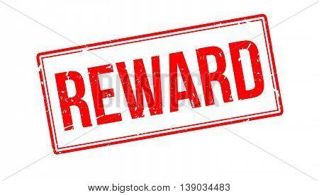 Reward Rubber Stamp