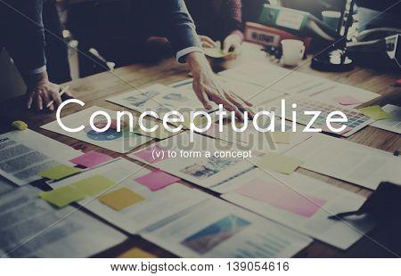 Conceptualize Creative Ideas Notion Abstract Plan Concept