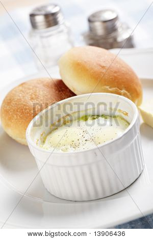 Breakfast With Baked Eggs