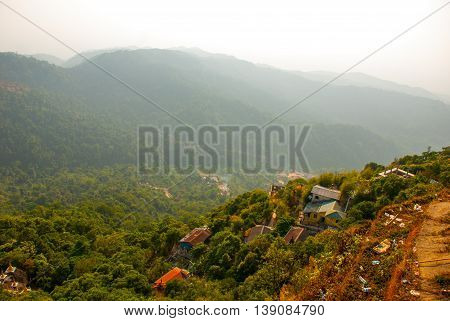 View From The Mountains. Myanmar
