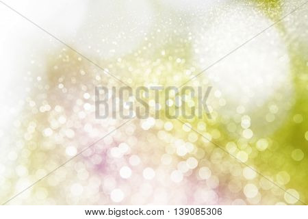 Glister wonderful lights background, Romantic and happiness.
