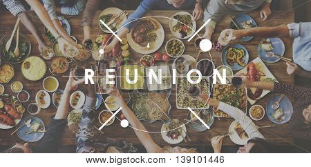 Reunion Reunite Return Welcome Cheerful Concept
