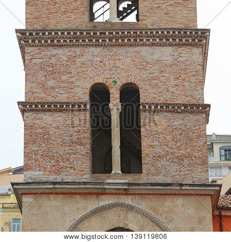 Cathedral Tower by Nicola DI Angelo in Norman style. Gaeta Italy