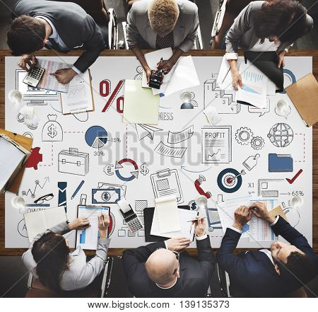Business Planning Corporate Development Startup Concept