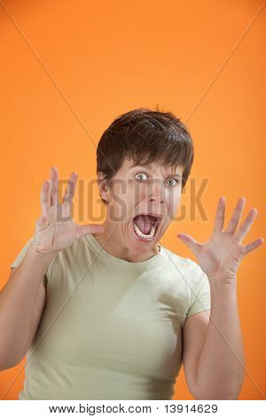 Scared Woman
