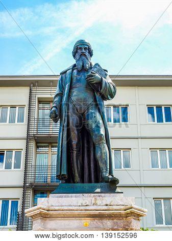 Gutenberg Monument Hdr