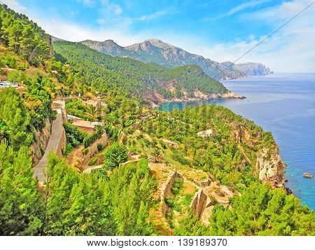 Northwest Coast Of Majorca, Sierra De Tramuntana, Coastline