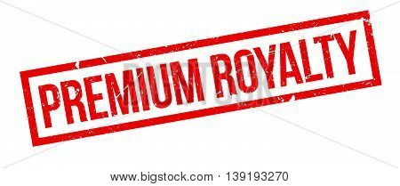 Premium Royalty Rubber Stamp