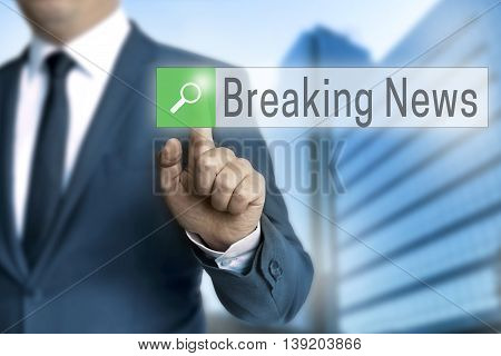 Breaking News Browser Is Operated By Businessman