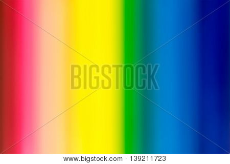 Rainbow colorful color blur style for abstract background