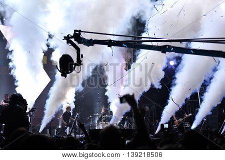 British Rock Concert