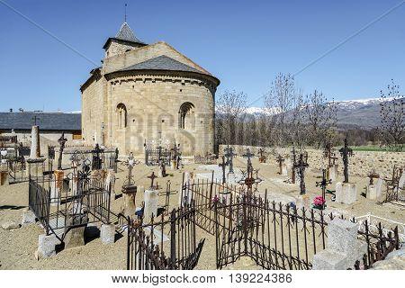 church romanesque of Sant Marti d hix France