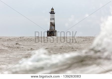 The famous Armen lighthouse, classified as