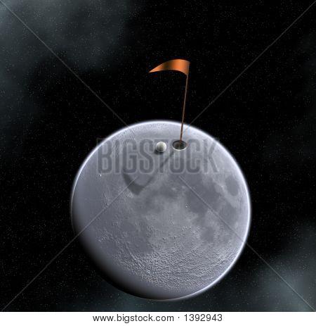 Moon Golfing