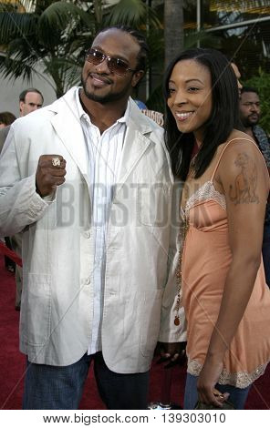 Lamon Brewster at the Los Angeles premiere of 'Cinderella Man' held at the Gibson Amphitheatre at Universal City in Hollywood, USA on May 23, 2005.