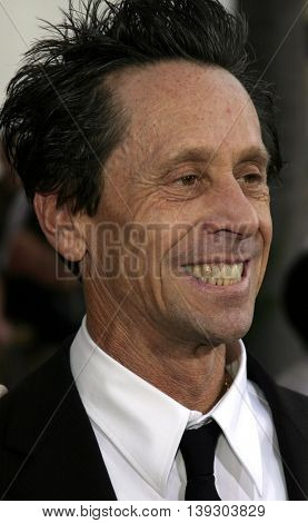 Brian Grazer at the Los Angeles premiere of 'Cinderella Man' held at the Gibson Amphitheatre at Universal City in Hollywood, USA on May 23, 2005.
