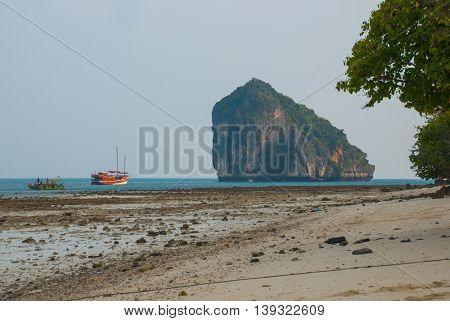 Island Tup. Krabi, Thailand.