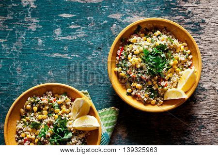 Bulgur And Vegetables Salad